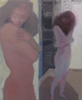 1 γυμνο στον καθρέφτη 120χ100